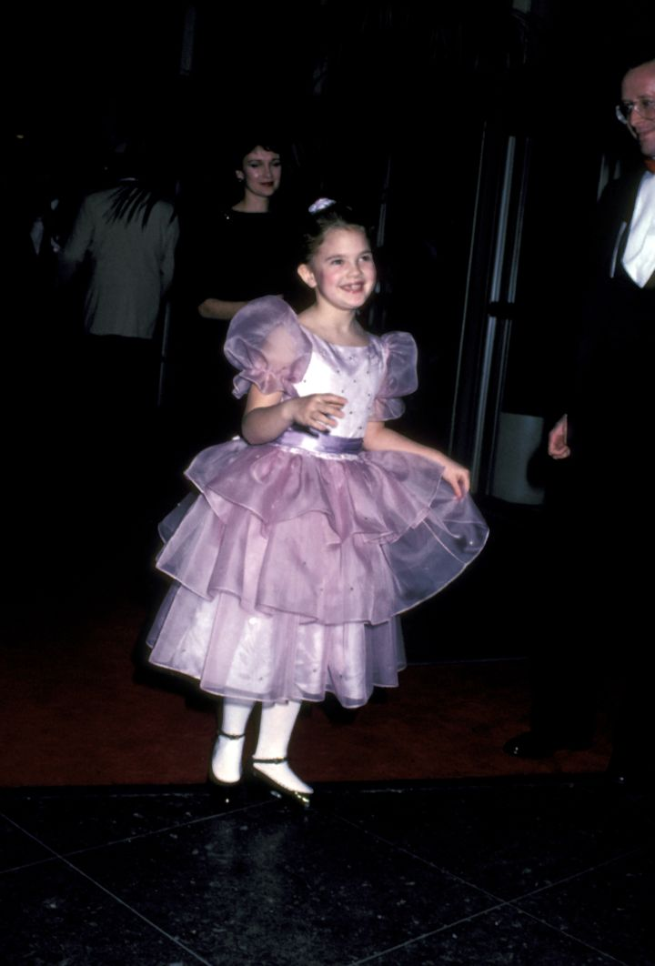 A young Drew Barrymore impressed the crowd in 1983.