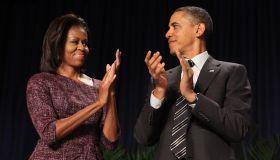 Obama Addresses The National Prayer Breakfast