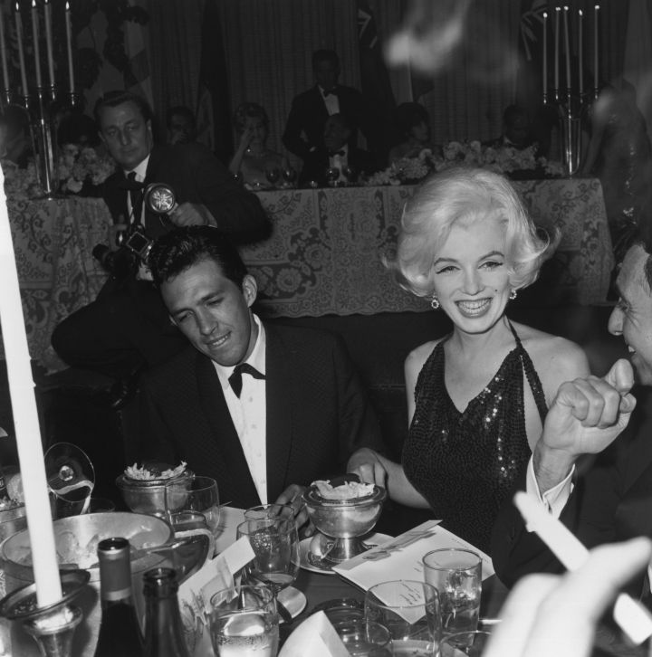 In 1962, Marilyn Monroe enjoyed all the attention.
