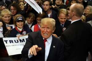 Donald Trump Holds Rally In Biloxi, Mississippi