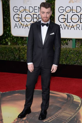 Sam Smith Golden Globes
