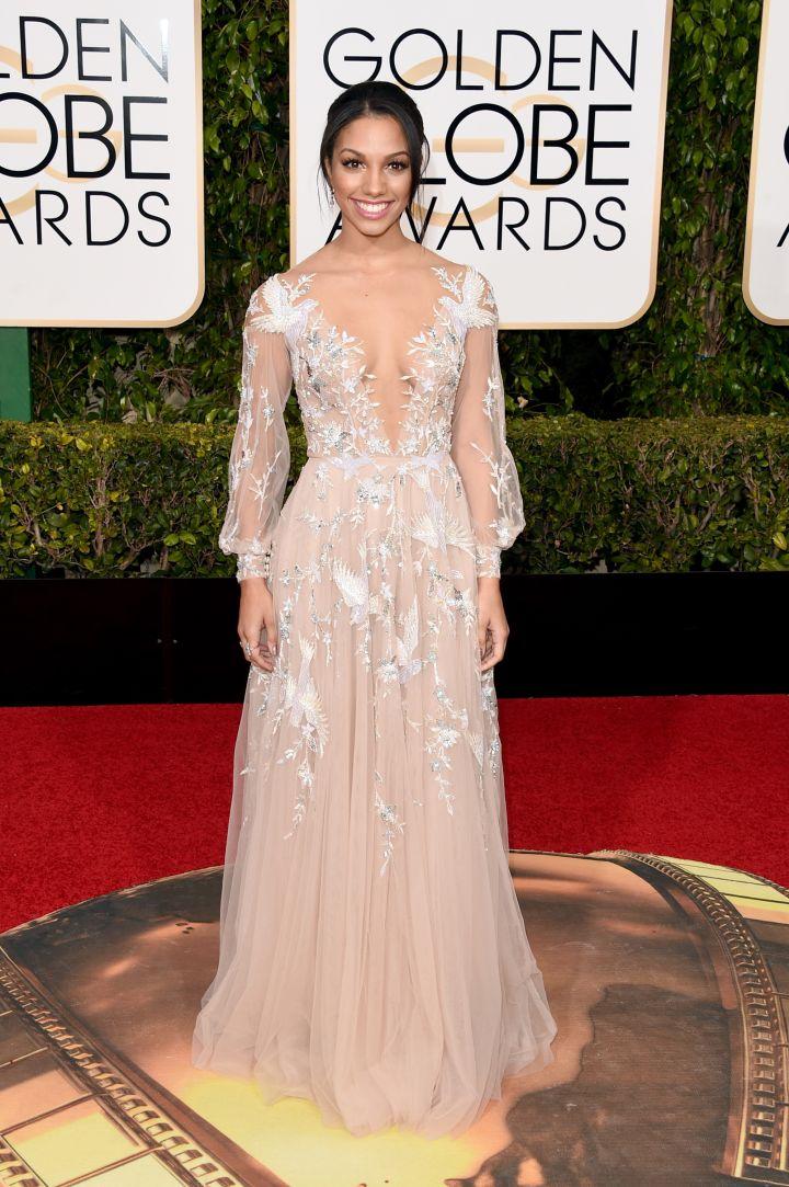 Corinne Foxx, Jamie Foxx's daughter, is the 2016 Miss Golden Globes.