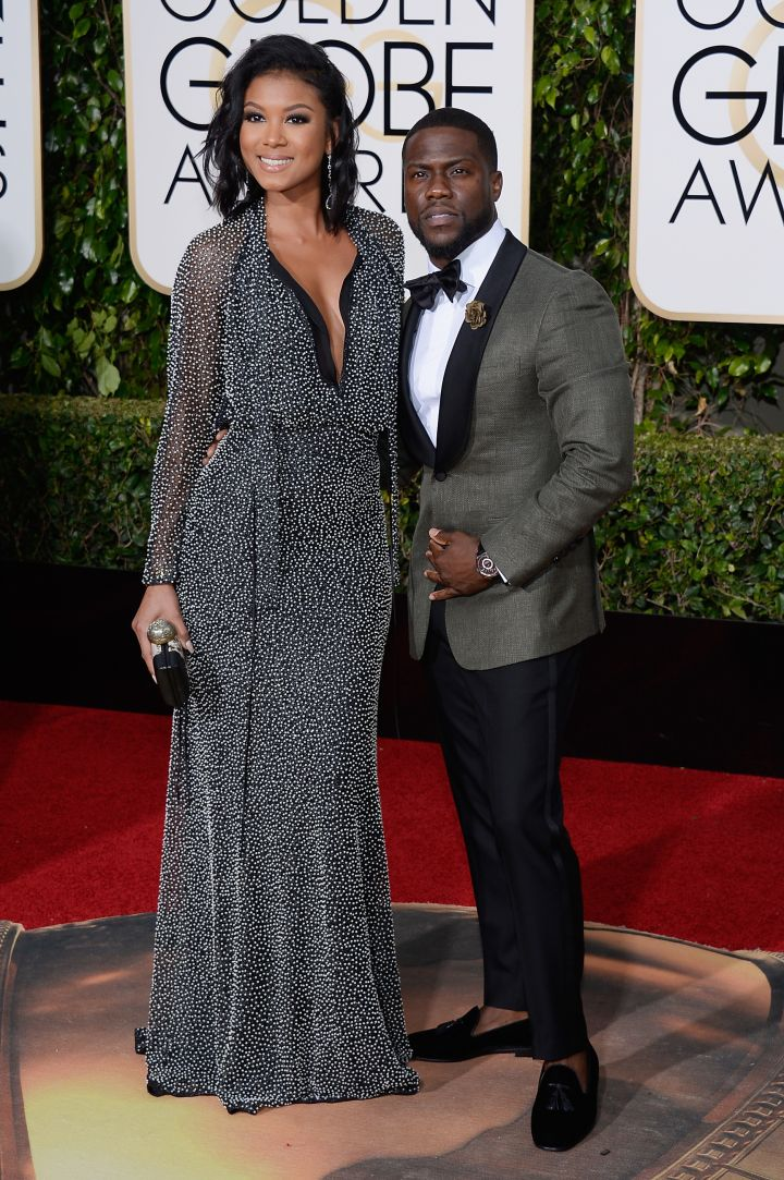 Kevin Hart and his fiancee, Eniko, complemented each other perfectly.