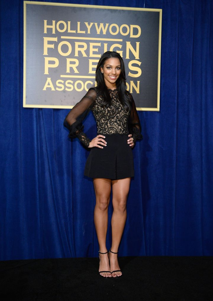 Corinne Foxx is named Miss Golden Globes by the Hollywood Foreign Press Association.