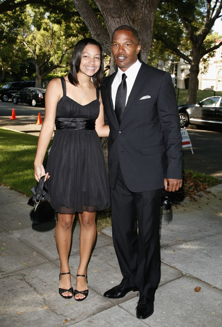 Corinne gets to rub shoulders with Barack Obama at the 'Black And White' Gala for the Barack Obama campaign held at a private residence on August 21, 2008.