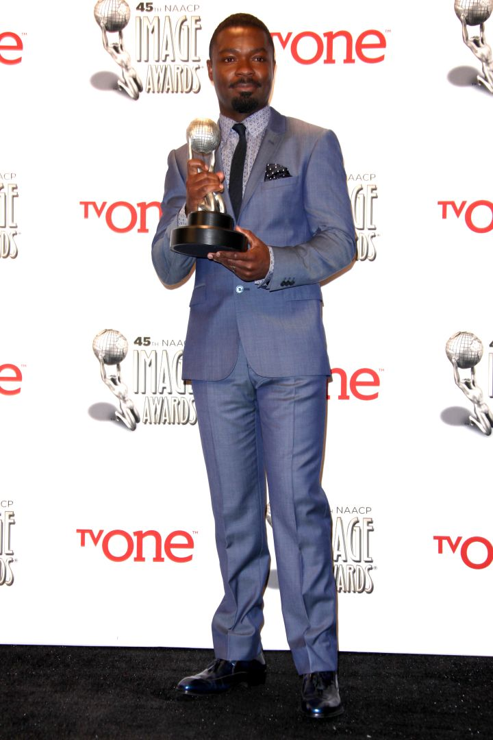 David celebrated wins at the NAACP Image Awards in 2014 and 2015.