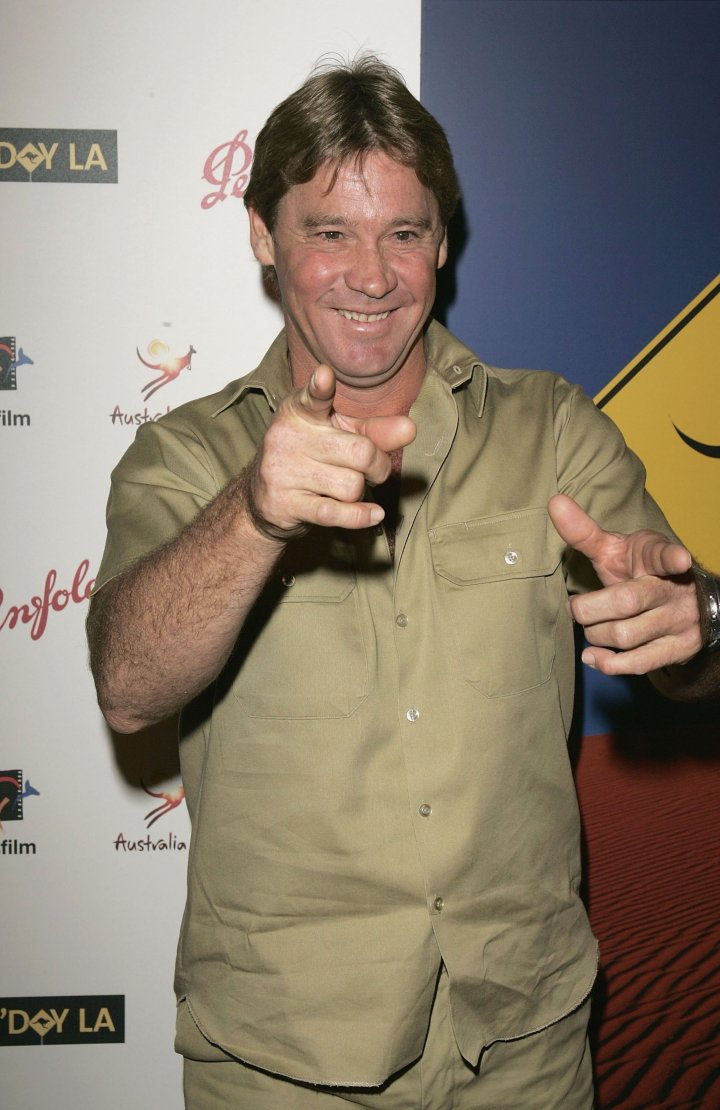 """The world was shocked by the death of Steve Irwin, also known as """"The Crocodile Hunter."""""""
