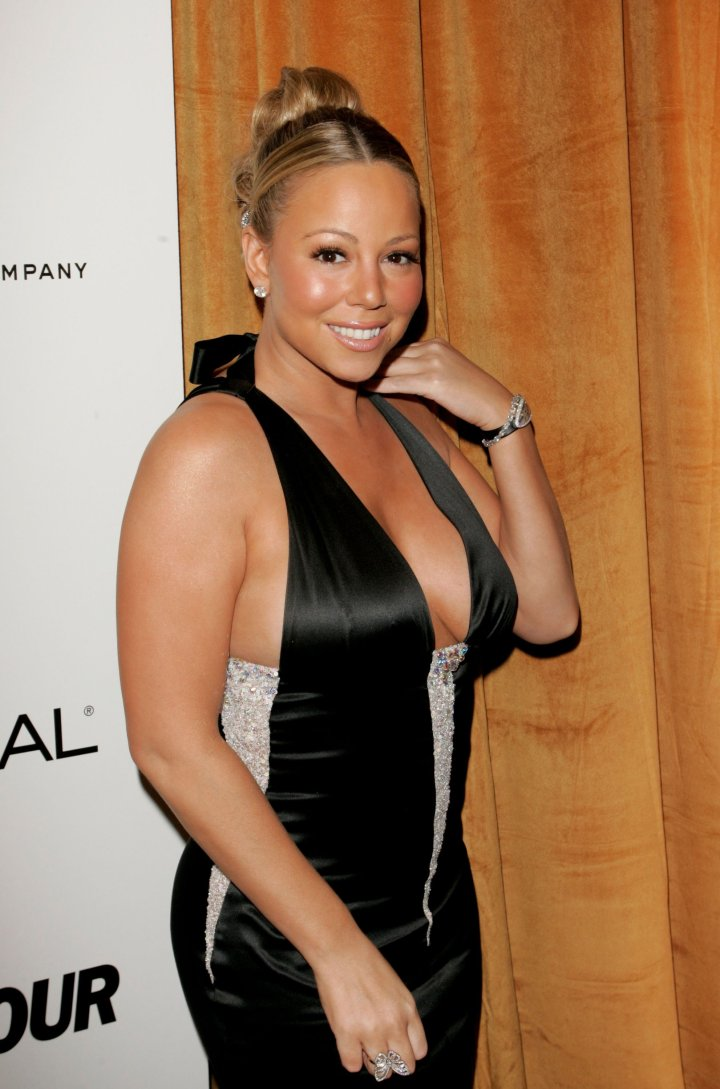 """Mariah Carey's """"Don't Forget About Us"""" topped the Billboard Charts for that year."""