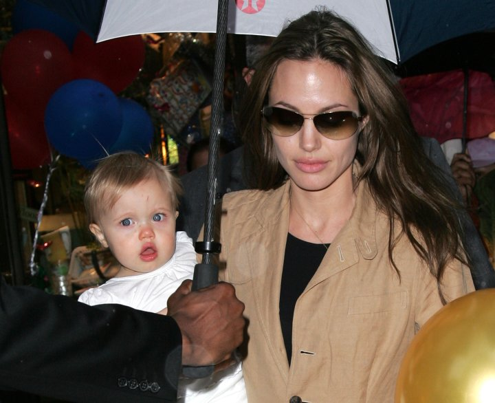 Shiloh Jolie Pitt was named the top baby born in 2006. Shiloh was the first biological child of A-list couple Brad Pitt and Angelina Jolie.