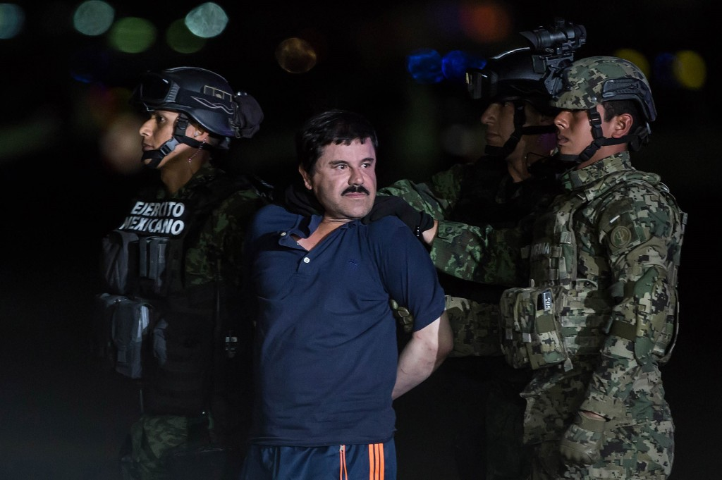 Drug Kingpin Joaquin 'Chapo' Guzman Recaptured in Mexico