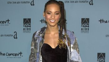 alicia keys cornrows