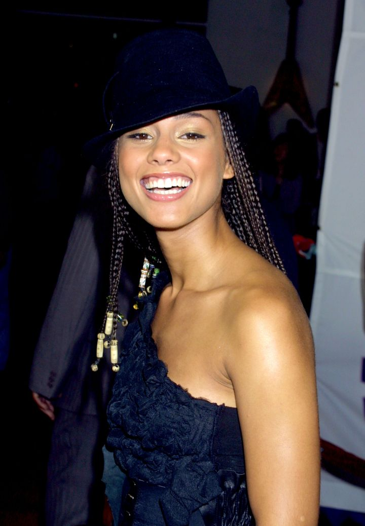 Alicia accessorized her signature look with countless hats…