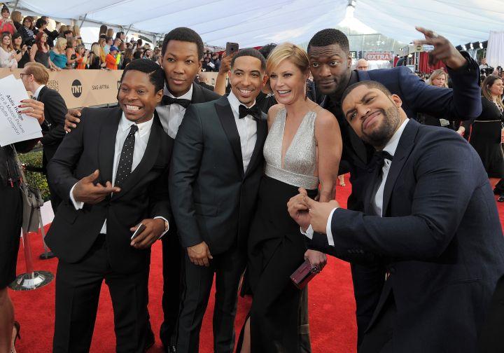 "Cast of ""Straight Outta Compton"""