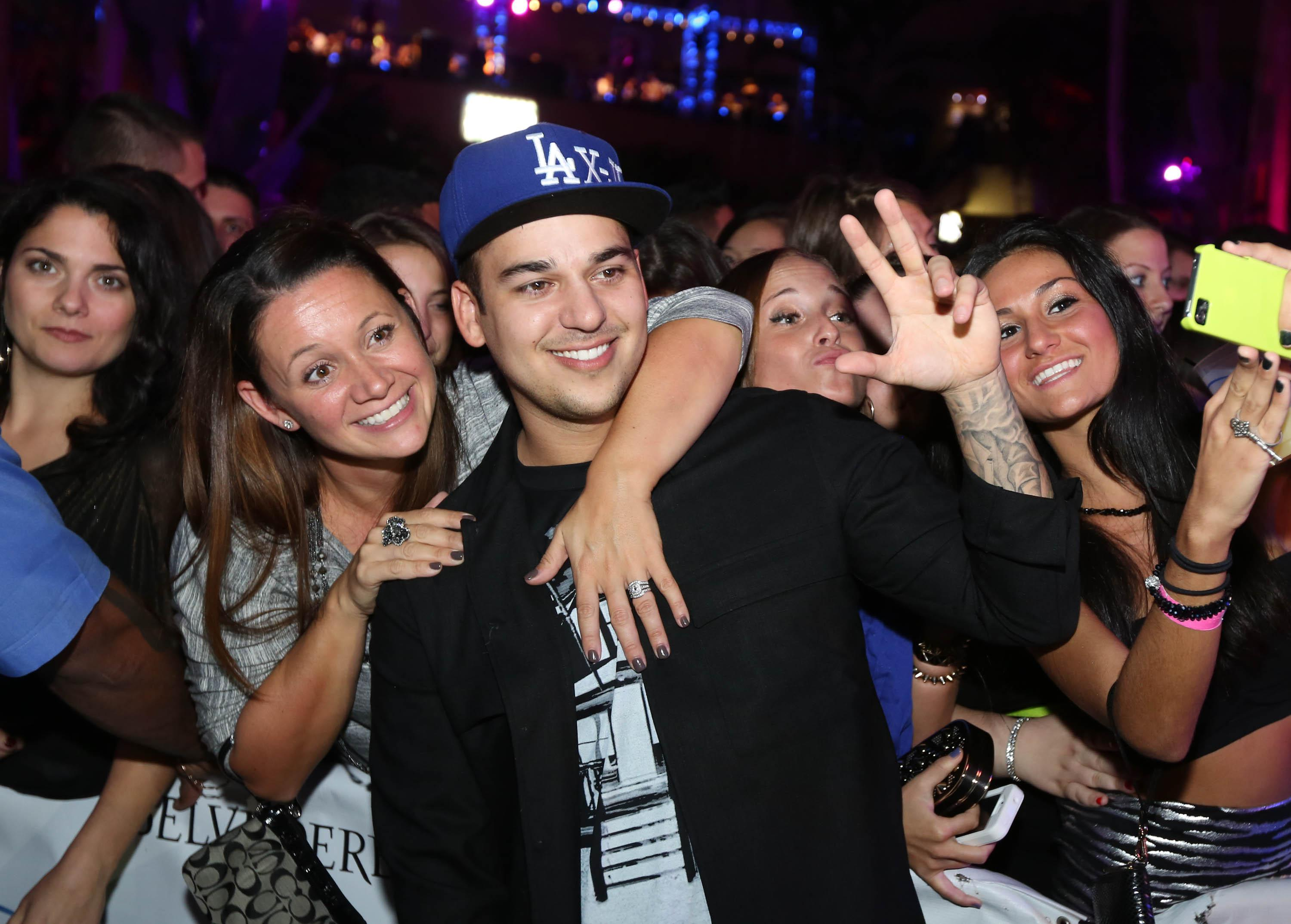 The Pool After Dark Hosted By Brody Jenner And Rob Kardashian