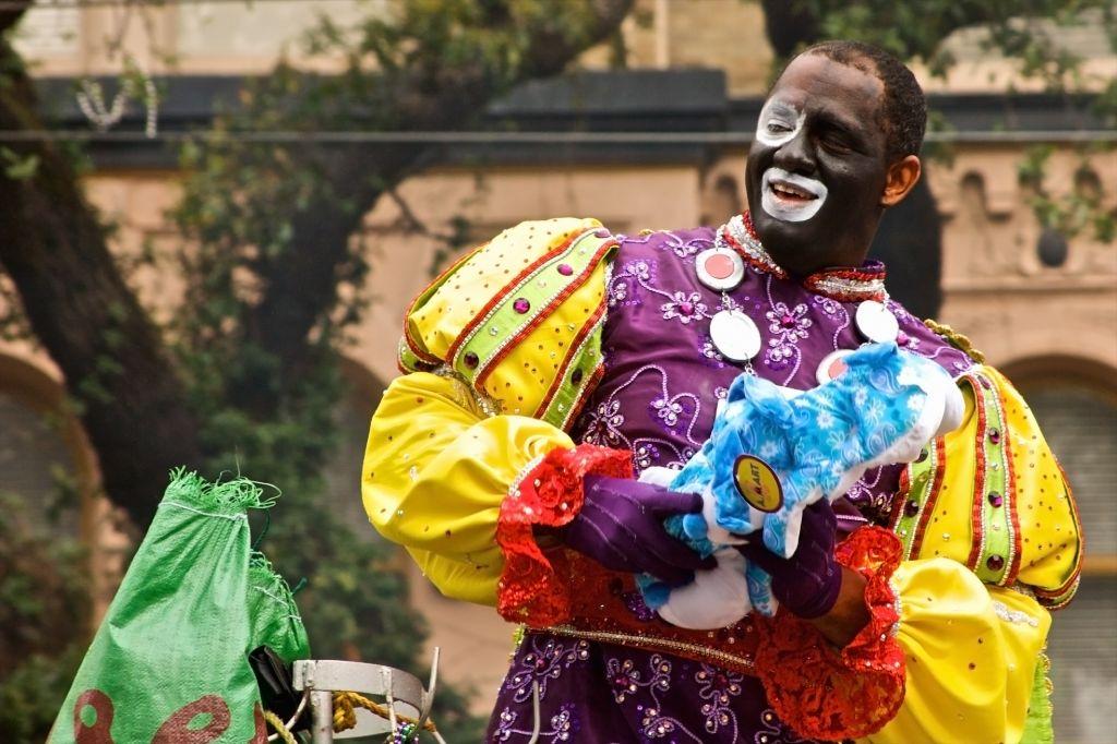 Zulu Parade, Mardi Gras, New Orleans, Louisiana, USA