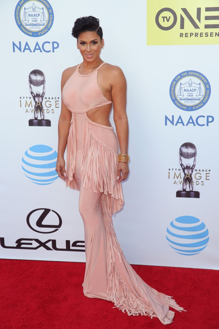 Laura Govan hits the red carpet.