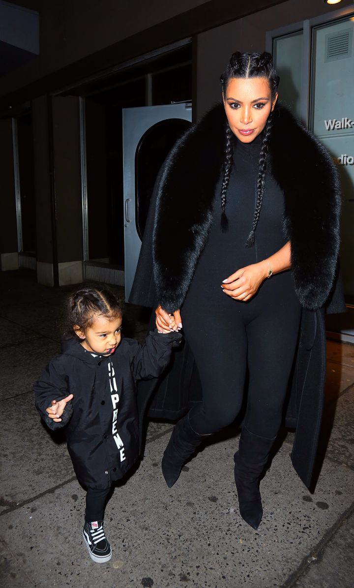 North West in her statement piece