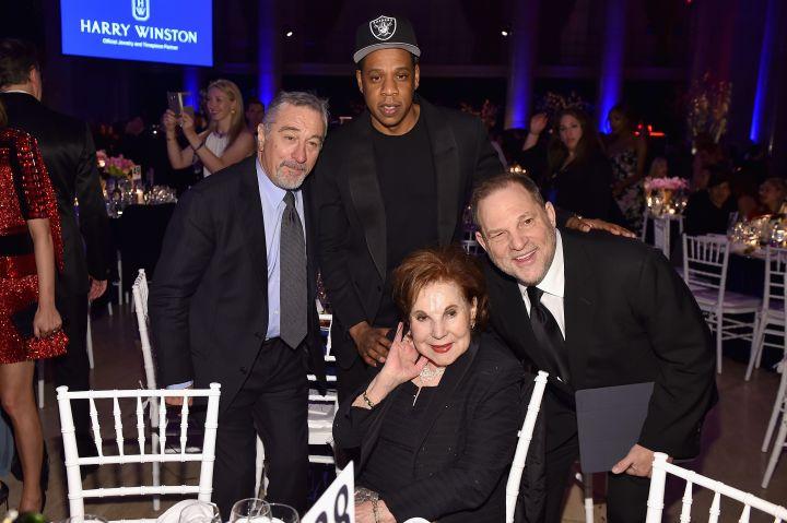 Jay Z, Robert De Niro, & Harvey Weinstein