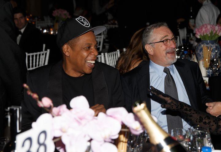 Jay Z and Robert De Niro