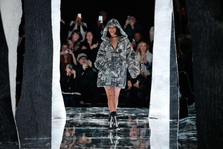 FENTY PUMA by Rihanna AW16 Collection - Runway - Fall 2016 New York Fashion Week