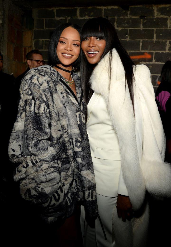 Rihanna and Naomi
