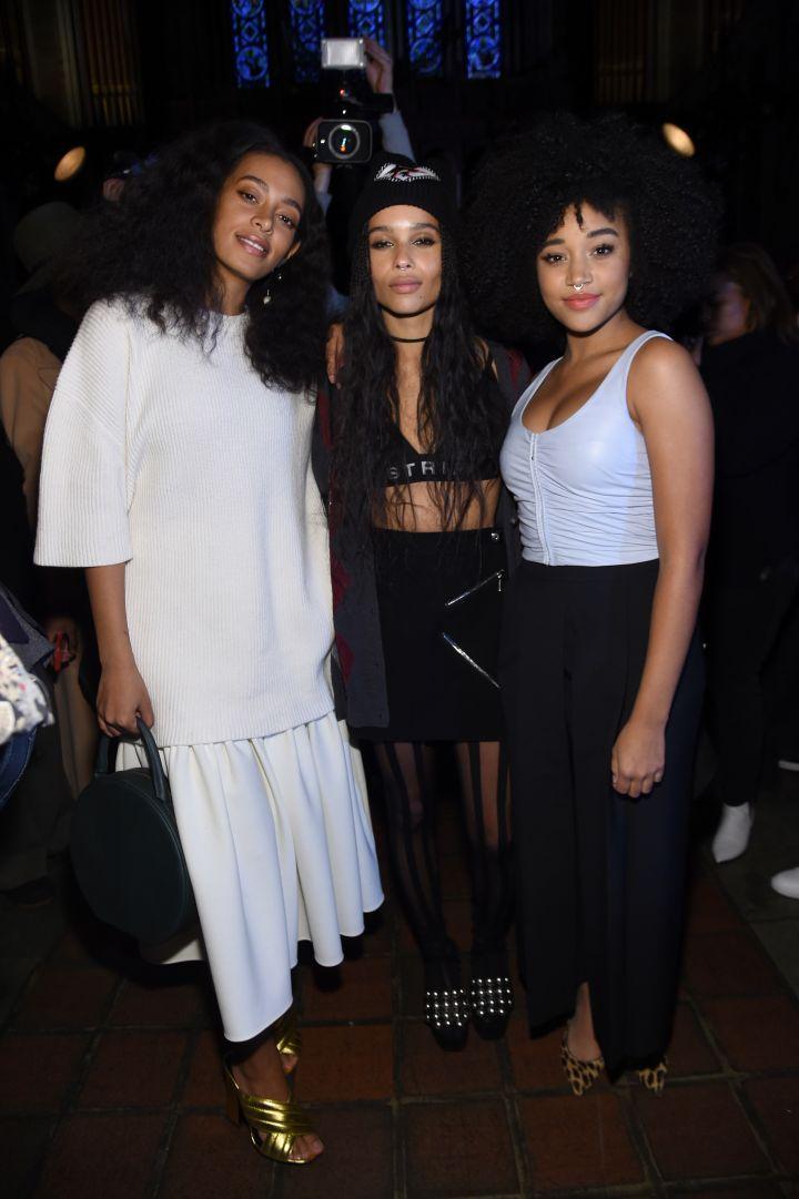 Solange, Zoe, and Amandla