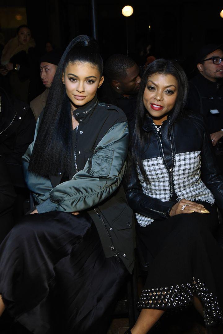 Kylie Jenner and Taraji P. Henson