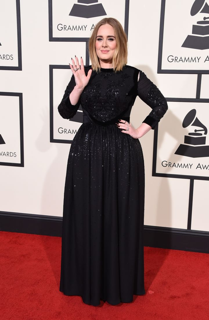 We can't wait for Adele's performance tonight.