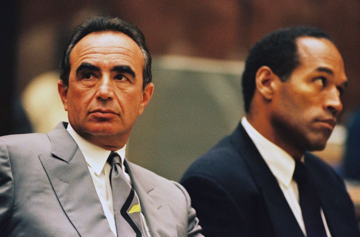 Robert Shapiro x O.J. Simpson.