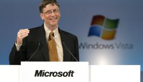 Microsoft CEO Bill Gates Press Conference