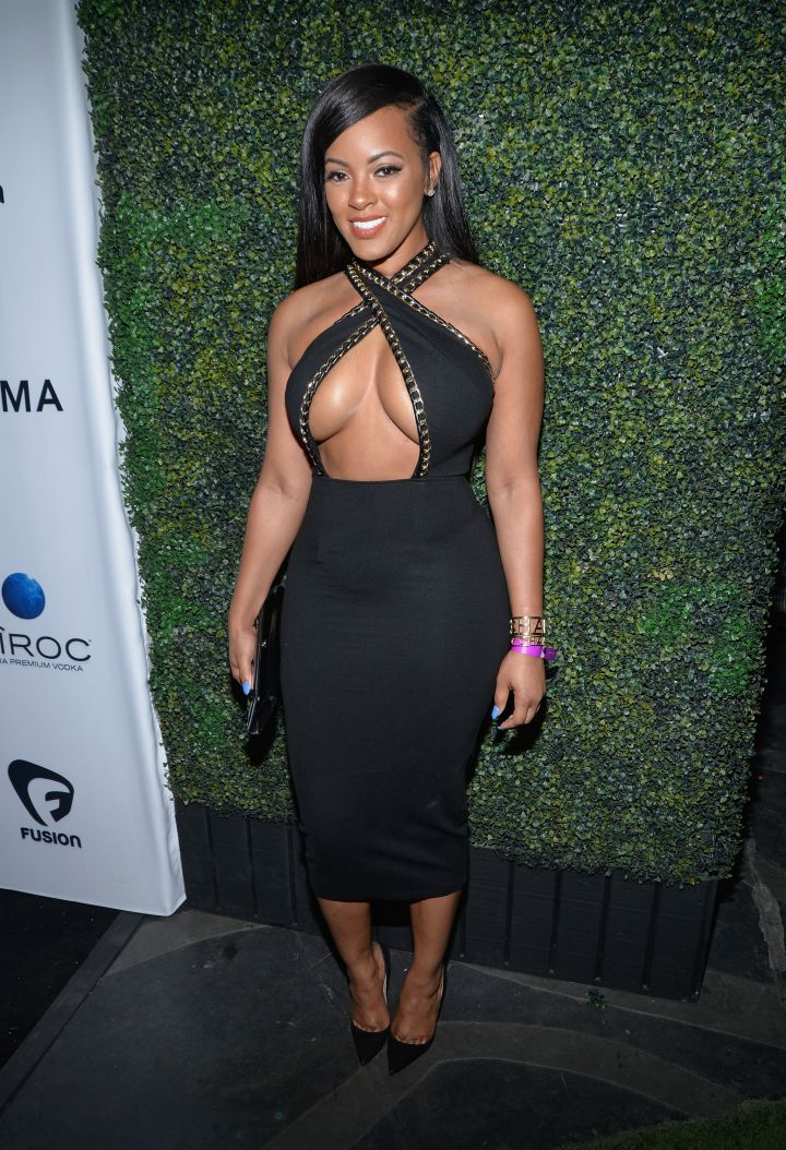 Malaysia Pargo put it all out there in a revealing number with stud accents.