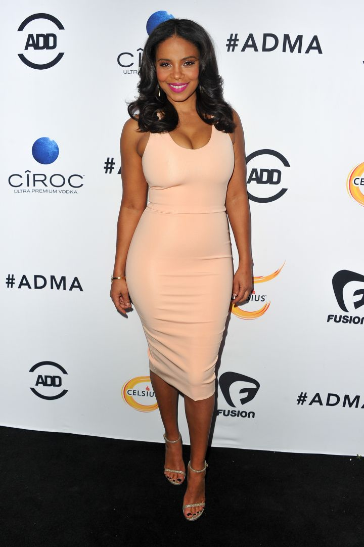 Sanaa Lathan wins our vote for best-dresssed.