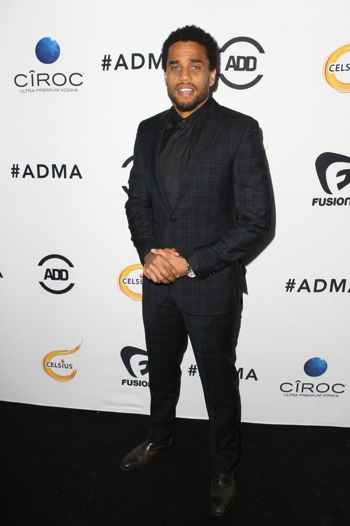 Looking suave, Michael Ealy.