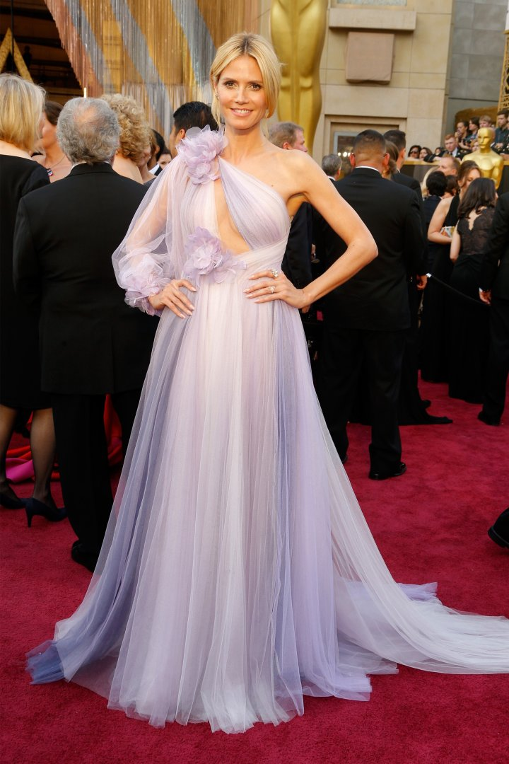 Are you feeling Heidi Klum's Marchesa gown?