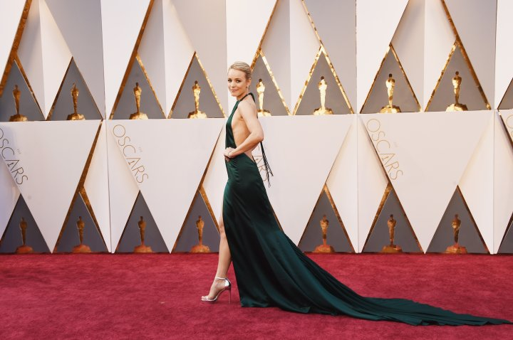 Rachel McAdams is on fire.