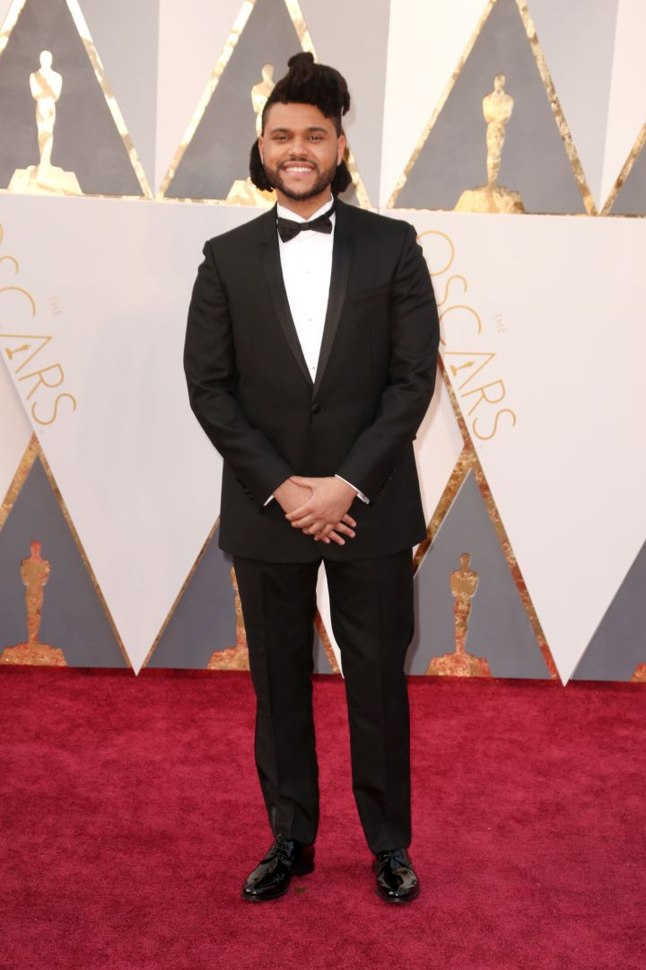 The Weeknd cleans up nicely.
