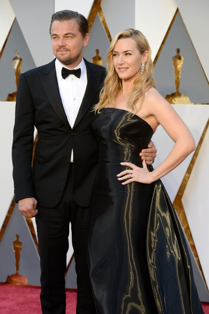 Jack and Rose. Will Leo win his Oscar tonight?