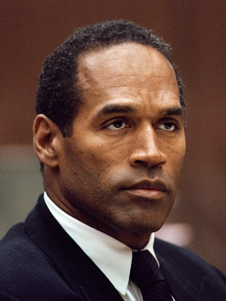 The Juice at his 1994-1995 murder trial.