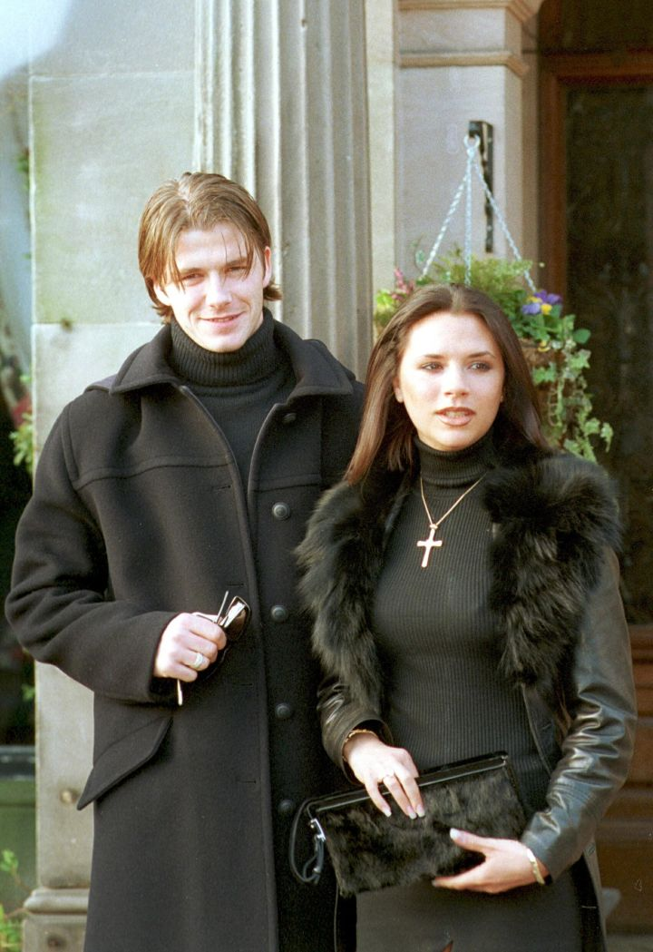 David and Victoria Beckham have been inseparable since their union in 1996.