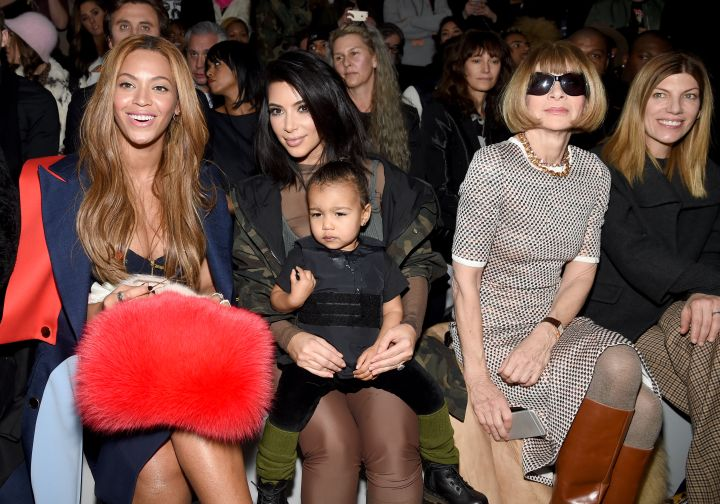 Beyonce x Kim K. x North West x Anna Wintour.