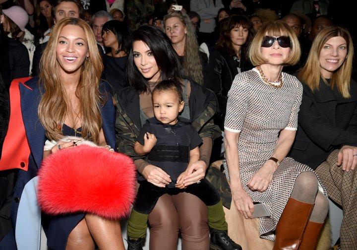 Beyonce x Kim K. x North West x Anna Wintour.