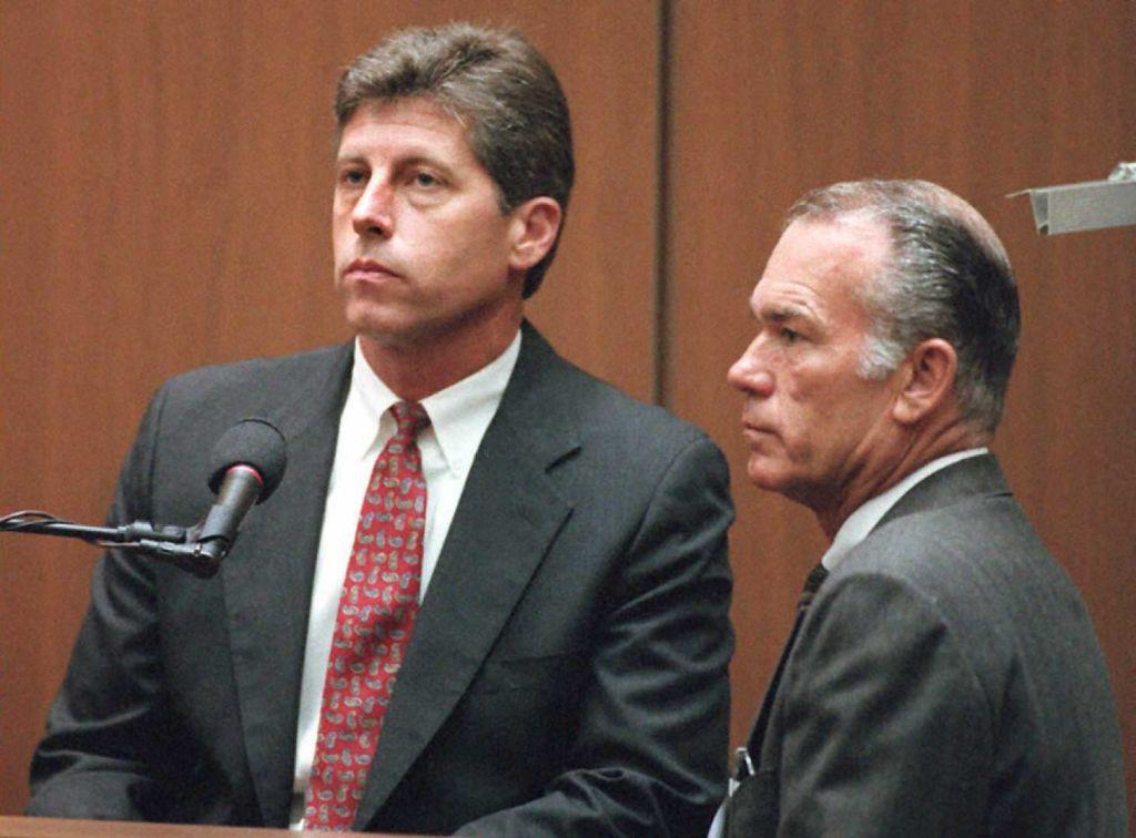 Former Los Angeles police Detective Mark Fuhrman (