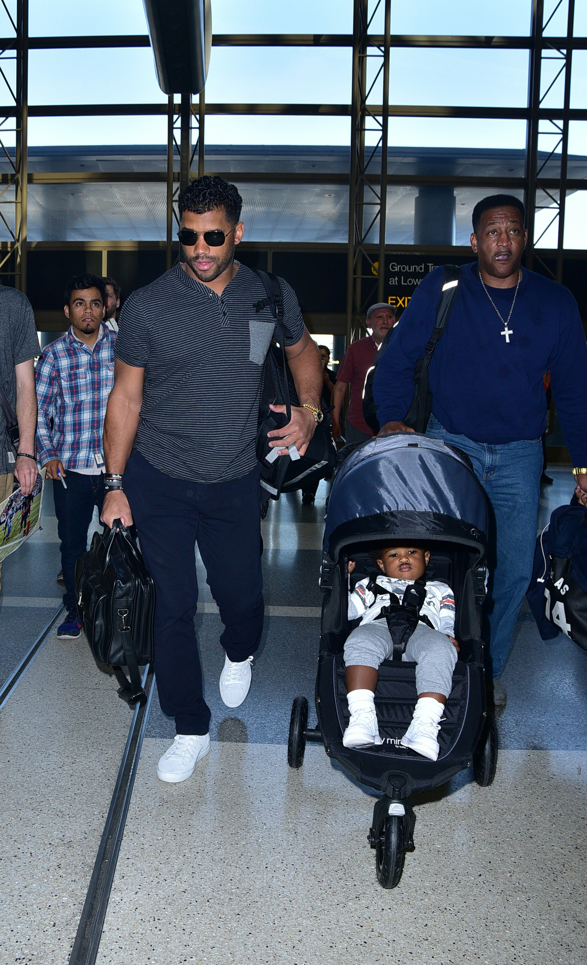 Russell Wilson, Baby future, Ciara's Dad