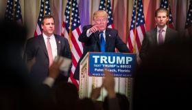 Donald Trump in Palm Beach, Florida.