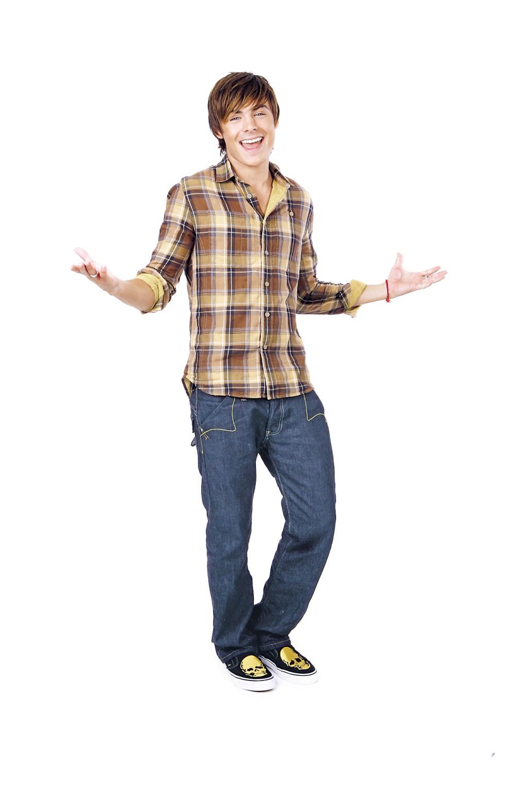 High School Musical star Zac Efron.