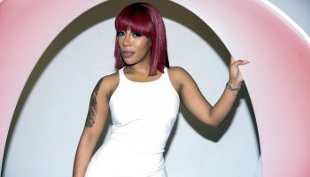 K. Michelle's 'More Issues Than Vogue' Listening Event