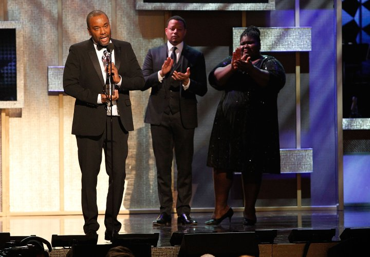 Lee Daniels accepting the Television and Film Award