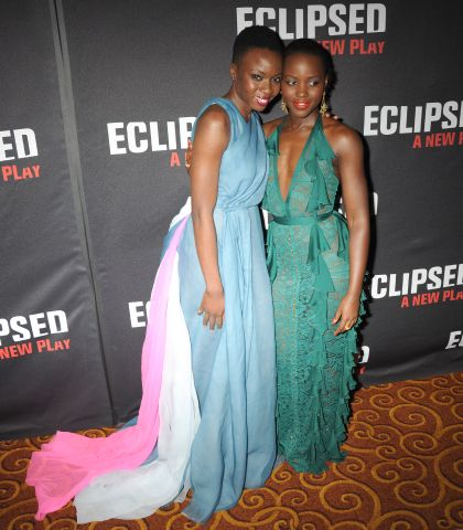 Danai Gurrira, Lupita N'yongo - Eclipsed opening night