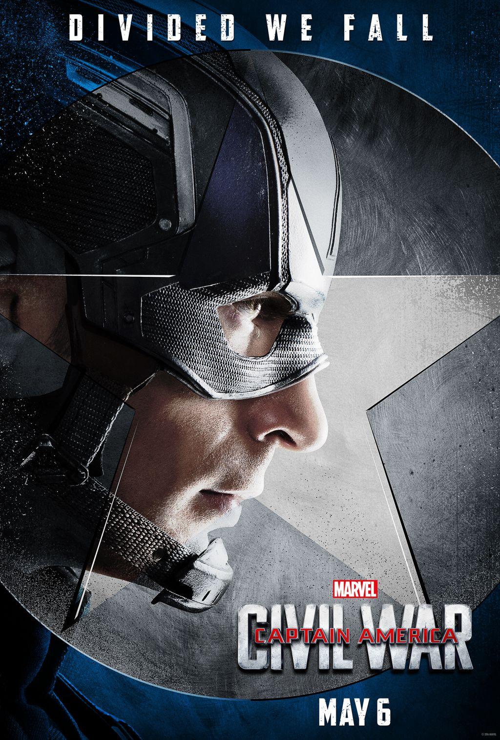 Captain America: Civil War posters