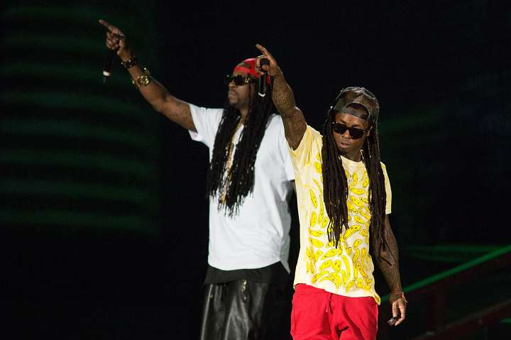2 Chainz and Lil Wayne have built such a great rapport, they have a joint album together.